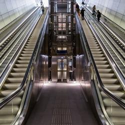 Amsterdam Noord Zuidlijn Station Rokin