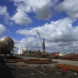 Industrielandschap Moerdijk