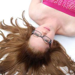 upside down....