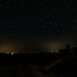 Een nacht in het Lauwersmeergebied