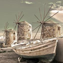 Molens op Chios