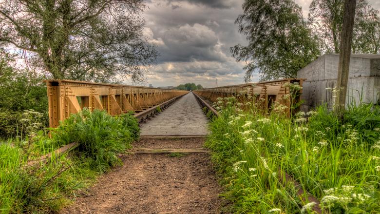 Moerputtenbrug 4 - Na 600 meter lopen kom je aan de andere kant van de brug.<br /> Andere foto&#039;s van de brug zijn te zien op FB<br /> Gr Johan
