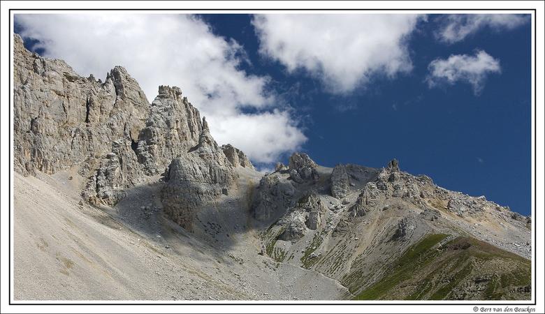 Dolomieten - Van 14 juli t/m 1 augustus jl. waren we op vakantie in de Dolomieten. Een actieve vakantie in de bergen met huttentochten, klimtoeren en