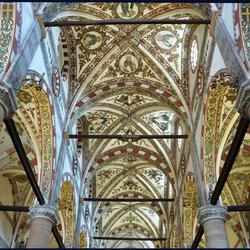 plafond van kerk