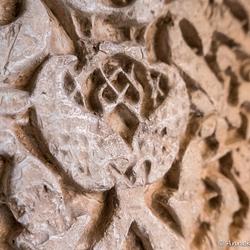Granada Alhambra detail van een muur
