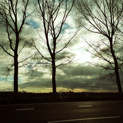 onderweg.............