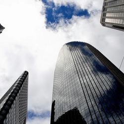 Wolkenkrabbers in san Francisco