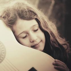 Soft guitar lulliby