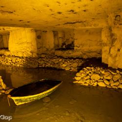 In de grotten van Valkenburg