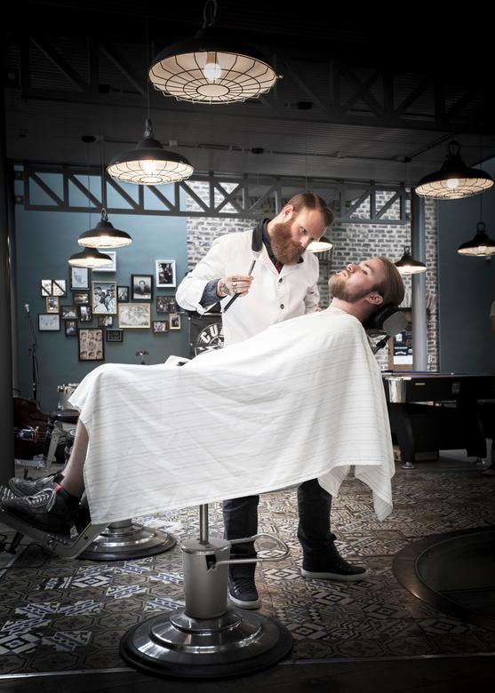 De kapper... -