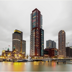 Rotterdam by Evening