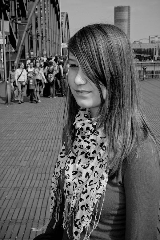 Black & White - Deze foto gemaakt in Keulen.