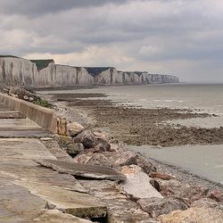 Kustplaats Ault Normandië