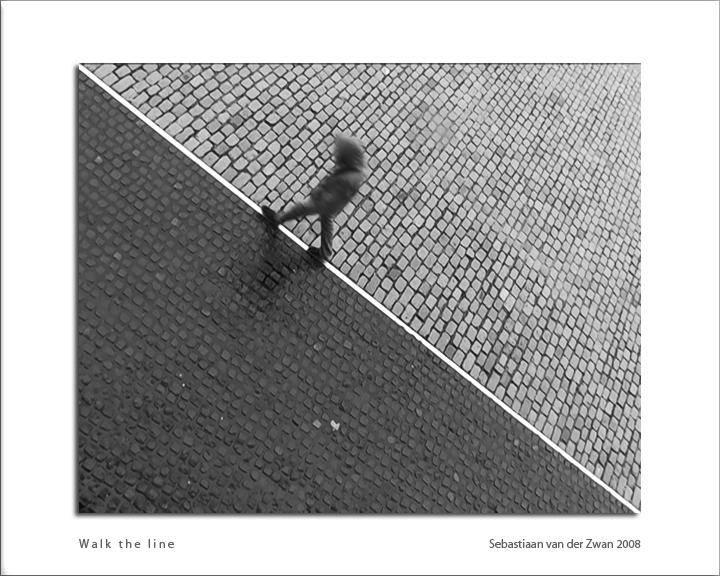 Walk the line -