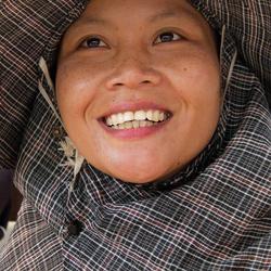 Faces of Cambodja -25- marktvrouw