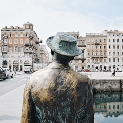 James Joyce in Trieste, Italy