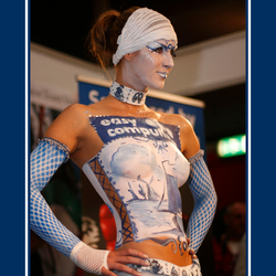 Delfts Blauw Body Painted Model - 5