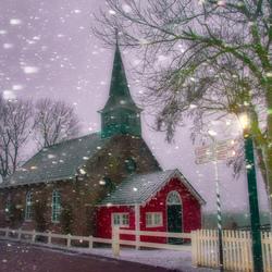 Sneeuw in January