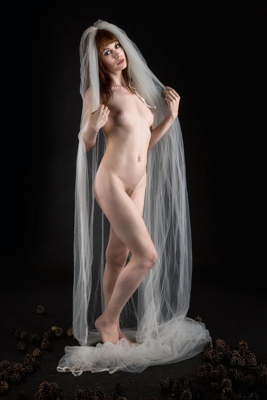 waiting for the groom - model Eva Evian