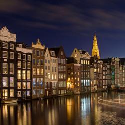 Amsterdam - Prins Hendrikkade - Oude Kerk