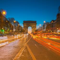 Drukke Champs Elysees