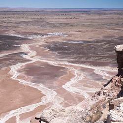 uitzicht vanaf Blue Mesa