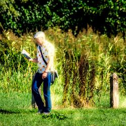 You read a natural book when you walk.