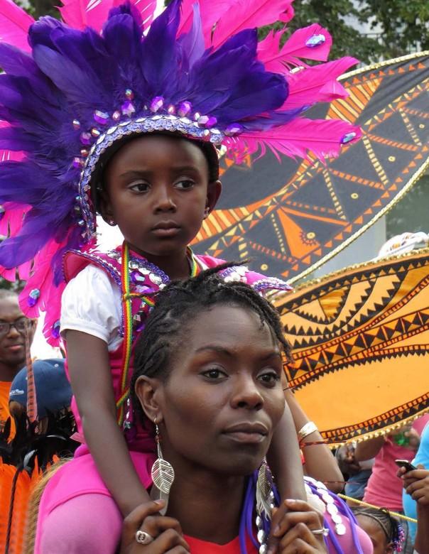Nottinghill Carnival - Op een zondag in augustus 2012 genoten van het Nottinghill Carnival in Londen.