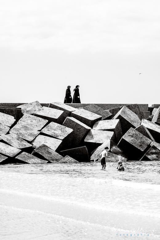 Schevenngen - Scheveningen strand.
