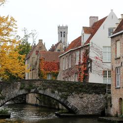 Brugge tijdens de Herfst