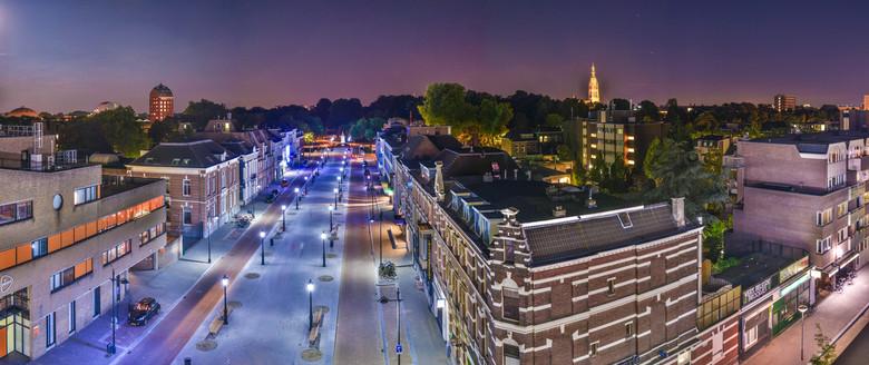 Breda - Panorama vanuit centraal station Breda