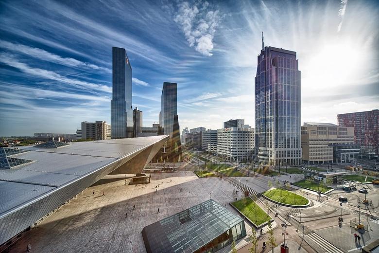 Rotterdam ontwaakt -
