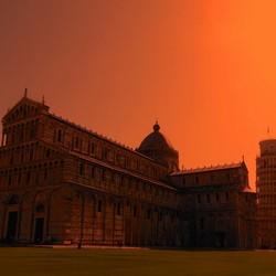 de Toren van Pisa ...
