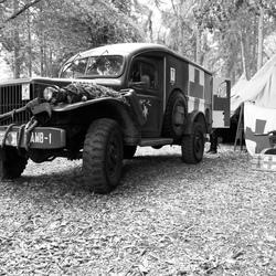 Ziekenauto uit WOII