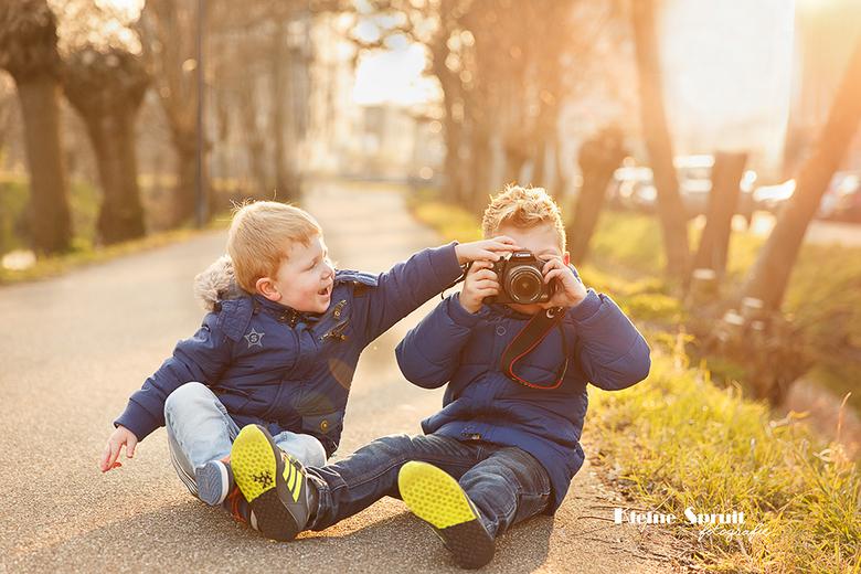 Wat mama kan, kan ik ook: fotograferen tijdens het golden hour
