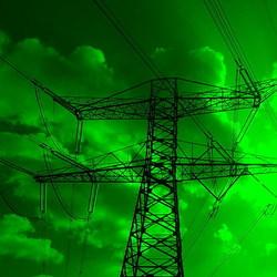Groene stroom.