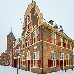 Naaldwijk met sneeuw