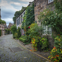 Circus Lane in Edinburgh