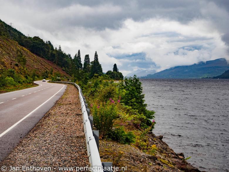 Mooie weg - Zó mooi zijn de wegen in Schotland, dit is de weg naar Kyle of Lochalsh aan de westkust van Schotland