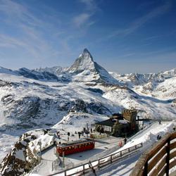 Gornergrat Zwitserland