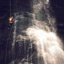Waterfallman (ippawards schoolopdracht fotografie: 'Travel')