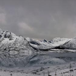 Fjord in Winter