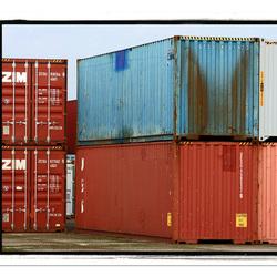 Containers haven van Waalwijk