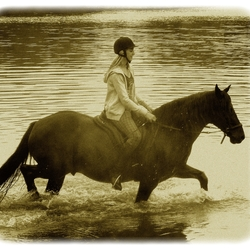 Splashing in the olden days!