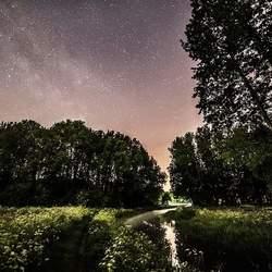 Melkweg boven de Grote Beerze 2