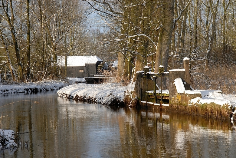Collse Watermolen. -