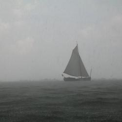 Noodweer op de Zuiderzee