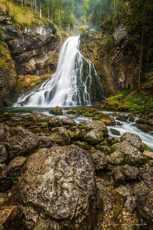Natural Wonder - De Gollinger waterval in Oostenrijk.