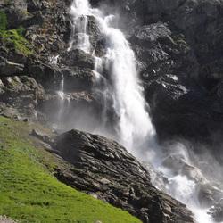 waterval Engstligenalp, adelboden, Zwitserland