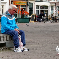Sraatfotografie Leiden.